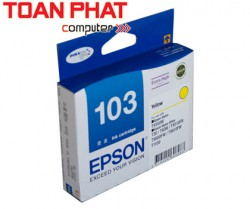 Mực in EPSON 103 Yellow Ink Cartridge (T1034)