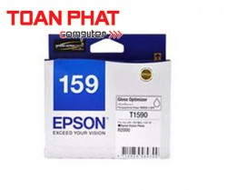 Mực in phun màu Epson T159 Gloss Optimiser Cartridge (C13T159090) - SP R2000